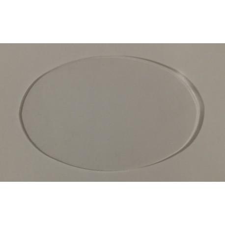 Socle Acrylique Ovale