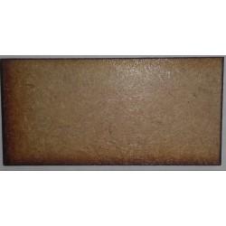 Socles rectangulaires 50x25mm (Lot de 10)