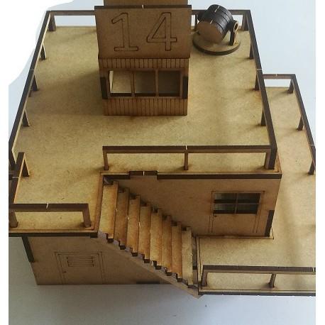 Mini diorama Diam30mm n°1