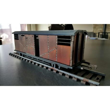 Pack rails et wagon de transports
