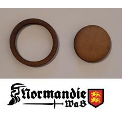 Adaptateurs de socles ronds 25mm vers 32mm (Lot de 10)