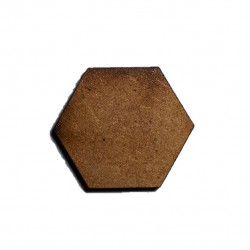 Socle hexagonal