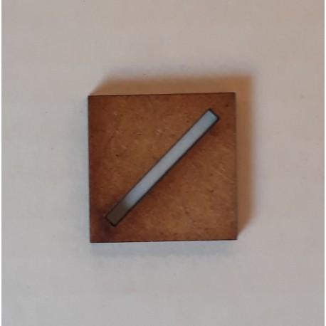 Socles diamètre 75 mm (Lot de 2)